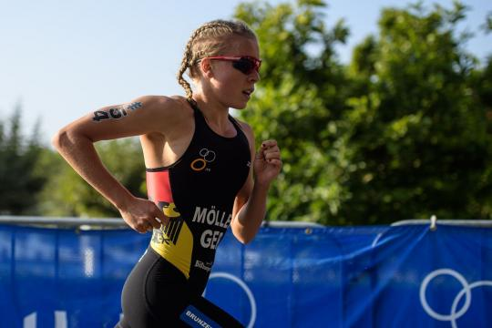 Sprintrennen Juniorinnen Grand Final in Lausanne - ITU World Triathlon Series, 30.08.2019